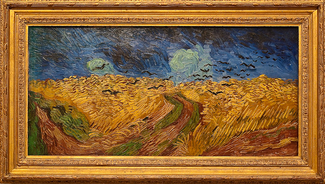 Wheatfield with Crows at Van Gogh Museum