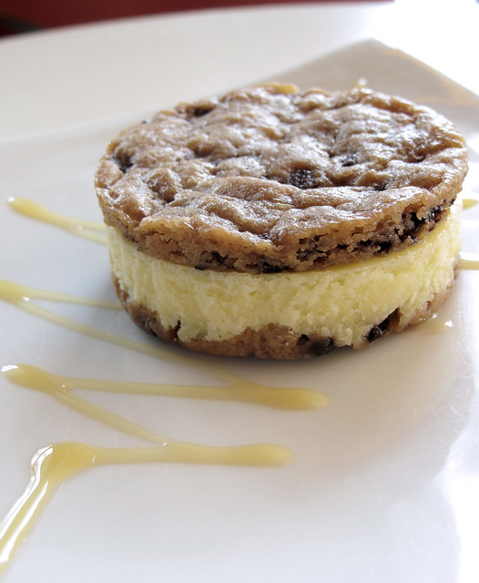 Chocolate Chip Cookie Dough Cheesecake from MoMo | Flickr - Photo ...