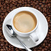 Espresso with Coffee Beans