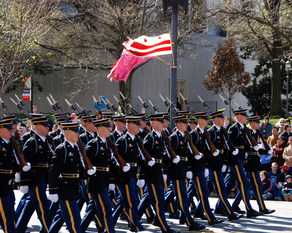 Army Honor Guard The Cherry Blossom Festival Parad Flickr