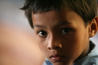 Young boy at Shreeshitalacom Lower Secondary School, Kaski, Nepal | by World Bank Photo Collection