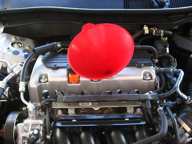honda accord engine oil change 177hp dohc i vtec 2 4l 4 flickr. Black Bedroom Furniture Sets. Home Design Ideas
