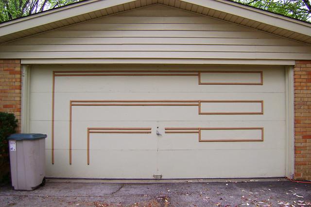 Mid Mod Garage Door 001 Ive Noticed That The 1960s Into Flickr