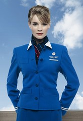KLM stewardess | by Fabird Blue