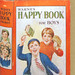 Happy Book for Boys Card