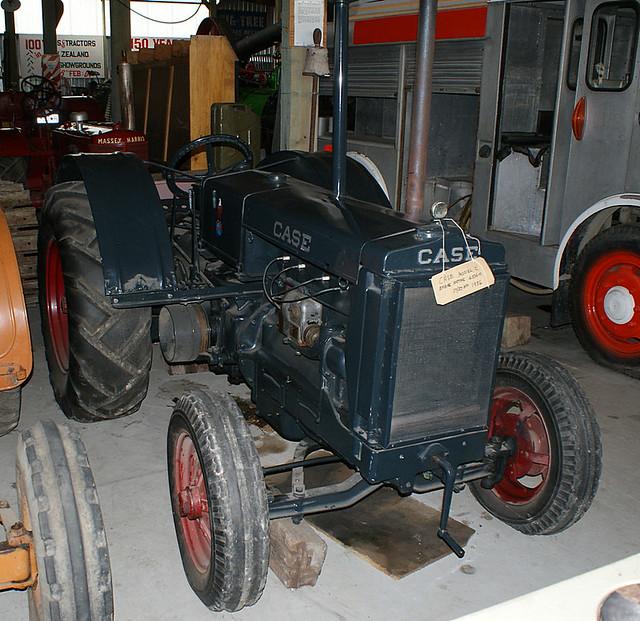 Case Model C : Case model c tractor seen at hokonui pioneer park