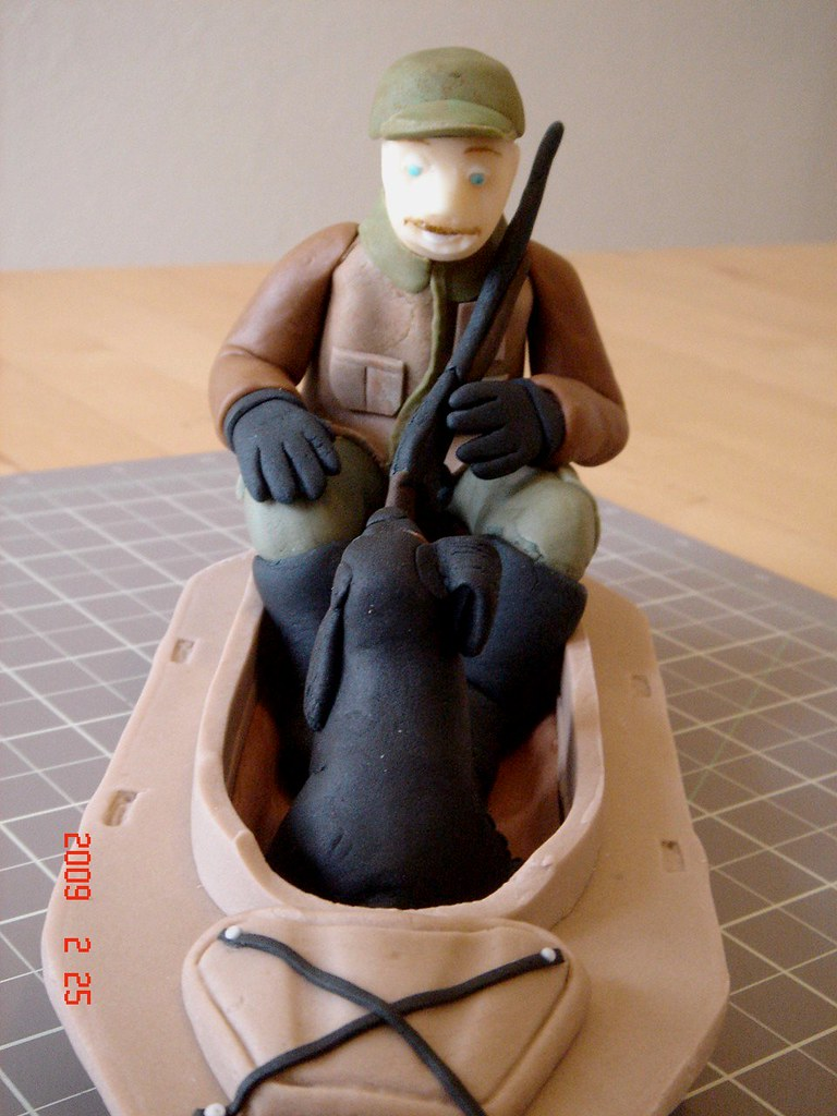 Hunting Dog Cake Toppers