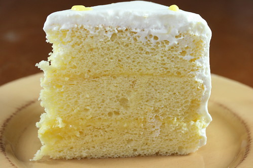 Yellow Coconut Cake