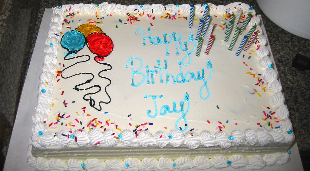 20090321 Jay S 30th Birthday Party Jay S Ice Cream Cak