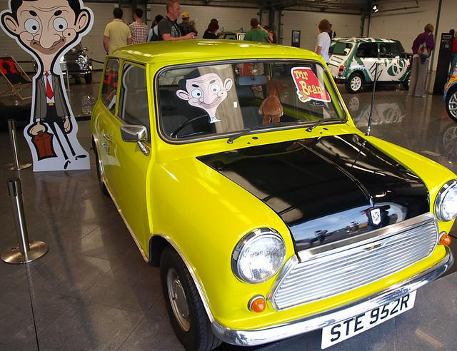 Mr Bean Mini Car Race Games Online Free