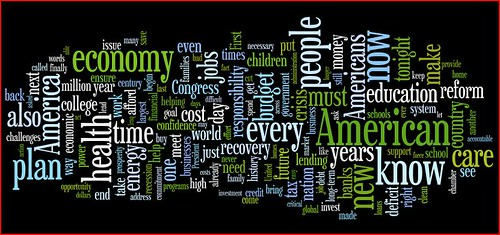 Obama's Congressional Speech Wordle | by Thomas Hawk