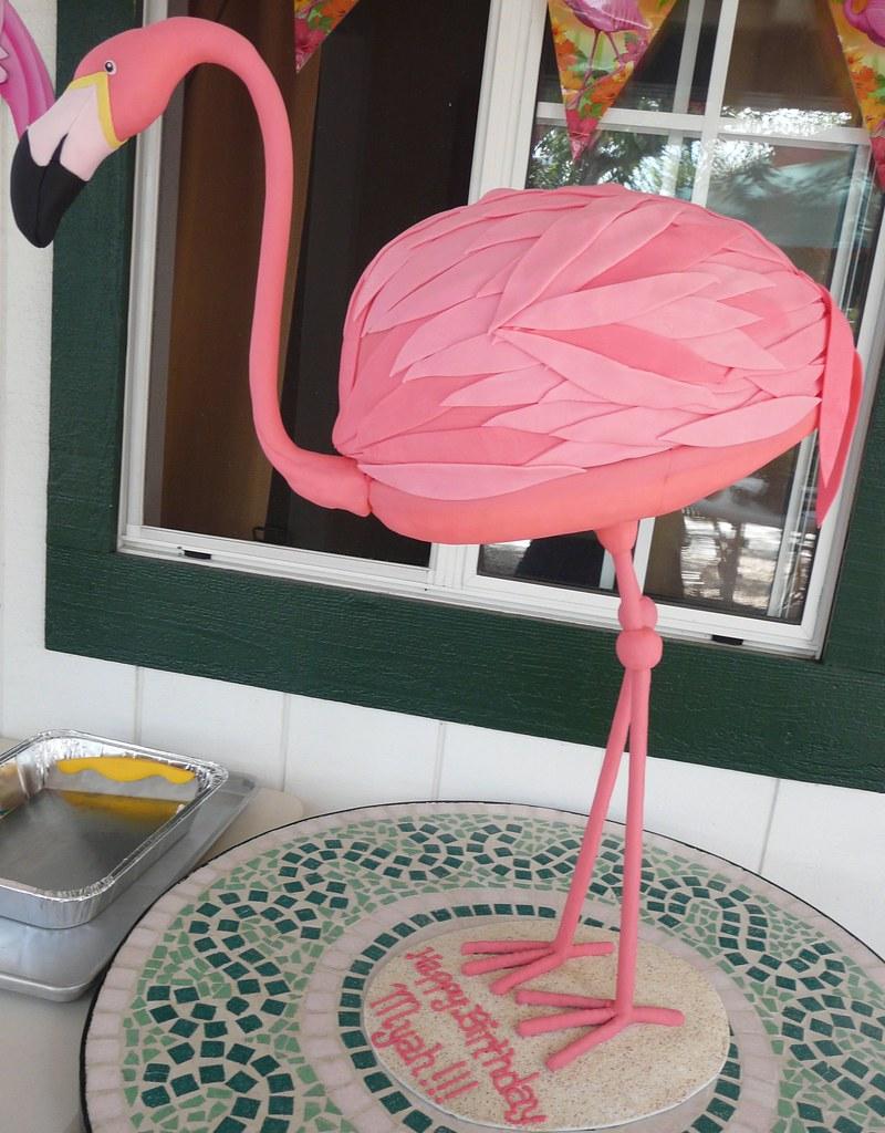 How To Make A Flamingo Cake