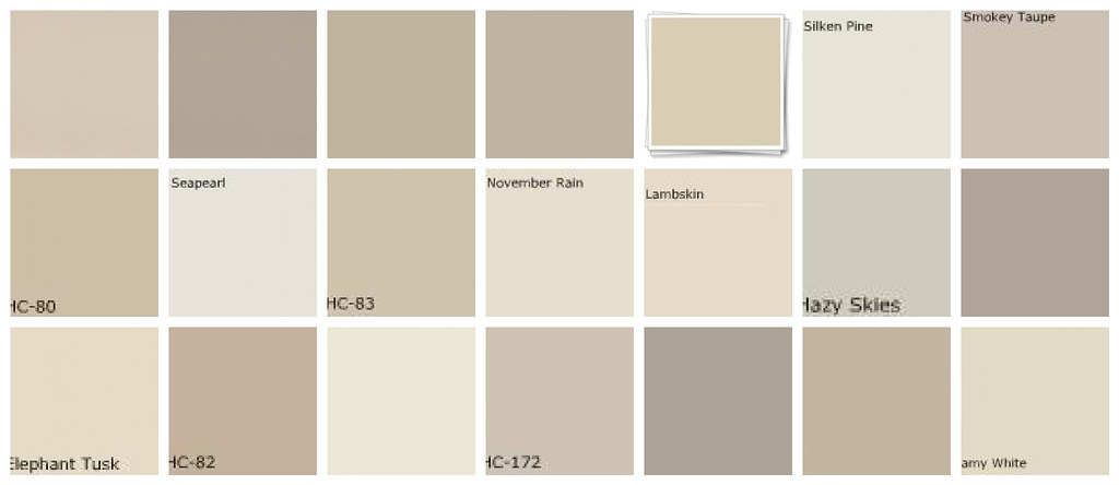 Neutral paint colors greige designers 39 favorites flickr for Shades of neutral colors