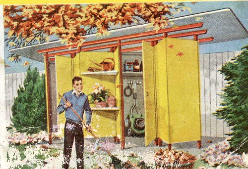 Fabulous DIY Mid-Century Modern Garden shed plans from Popular Science ...