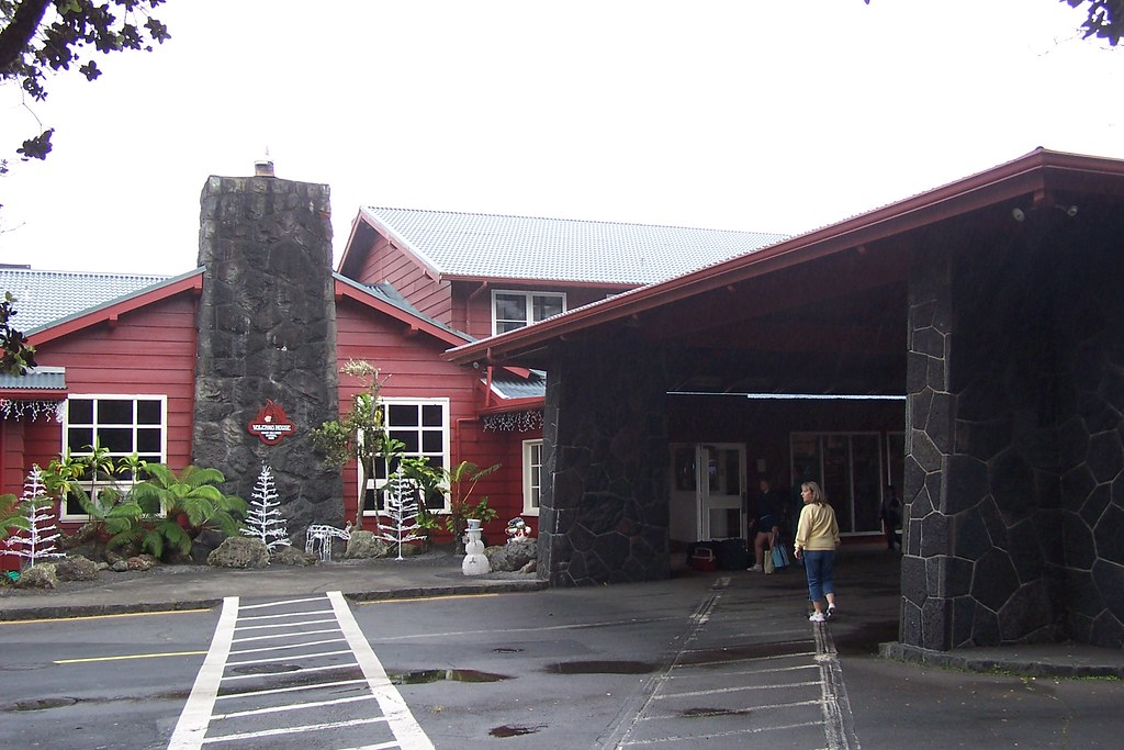 Volcano House Hotel Restaurant