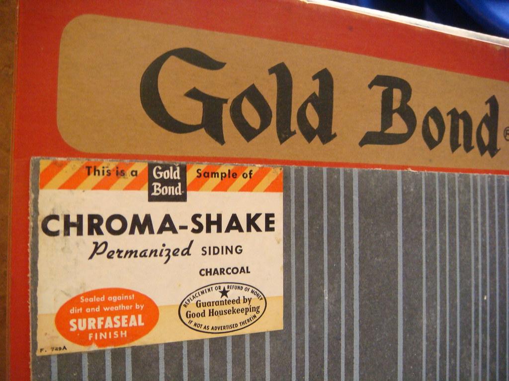 Gold Bond Asbestos Cement Siding Sample 3   Asbestorama   Flickr