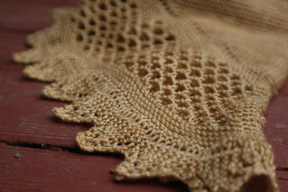 Aestlight Shawl Close Up | by gudruncjohnston