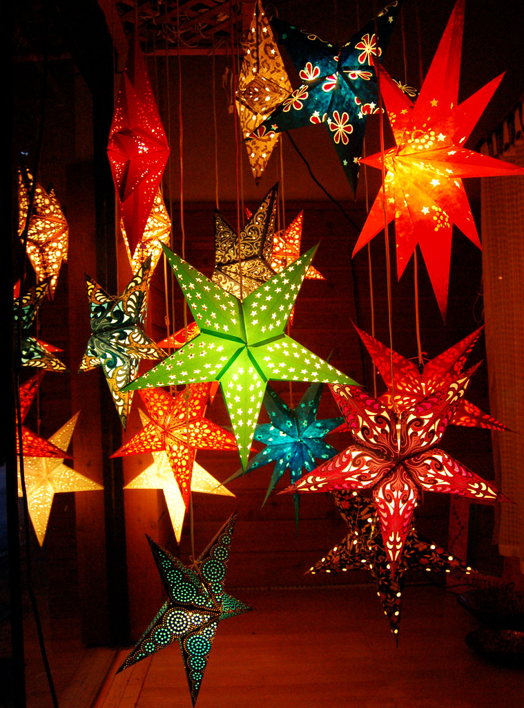 Christmas Tree Lantern Lights