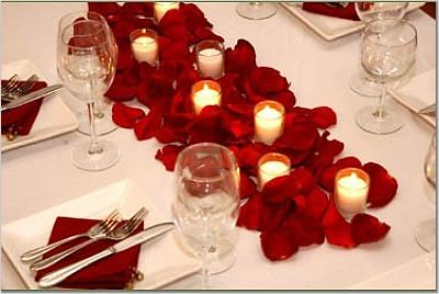 red table setting weddingsbyb flickr