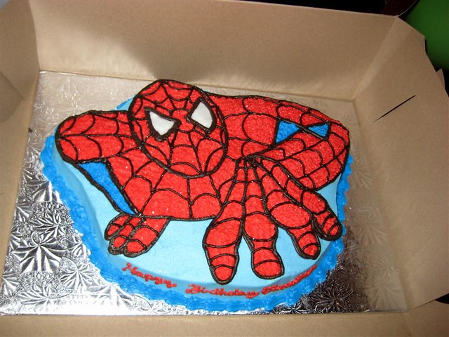 Spiderman Birthday Cake Pan