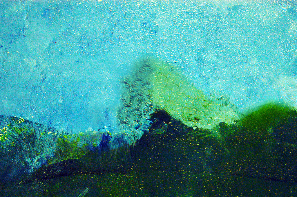 Turquoise And Green Sponge Paint Texture This Is Free To