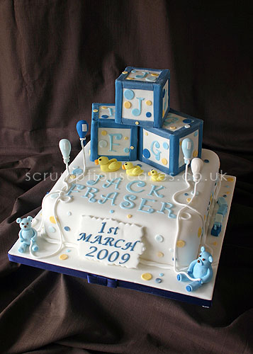 Christening Cake (467) - Building Blocks | Paula-Jane Bourke | Flickr