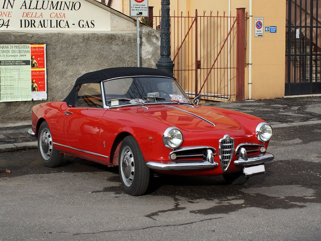 alfa romeo giulietta spider veloce 1958 maurizio boi. Black Bedroom Furniture Sets. Home Design Ideas