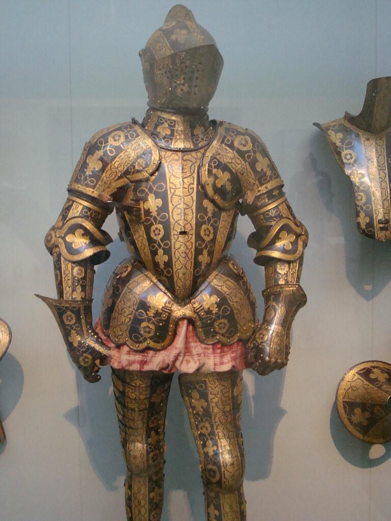 Medieval Armor Armor Seen At The Metropolitan Museum Of