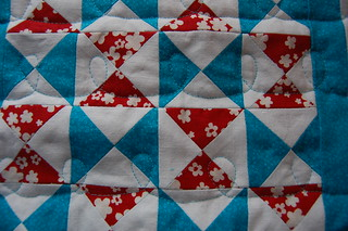 Doll quilt back detail | by smithiness