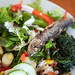 Sardines and Salad Lunch