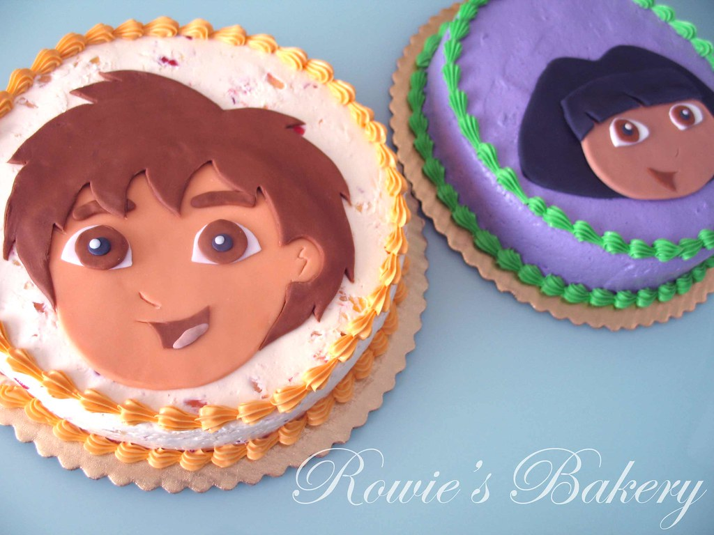 Dora Cake Recipe In English: Kids Party Themes And Adult Party