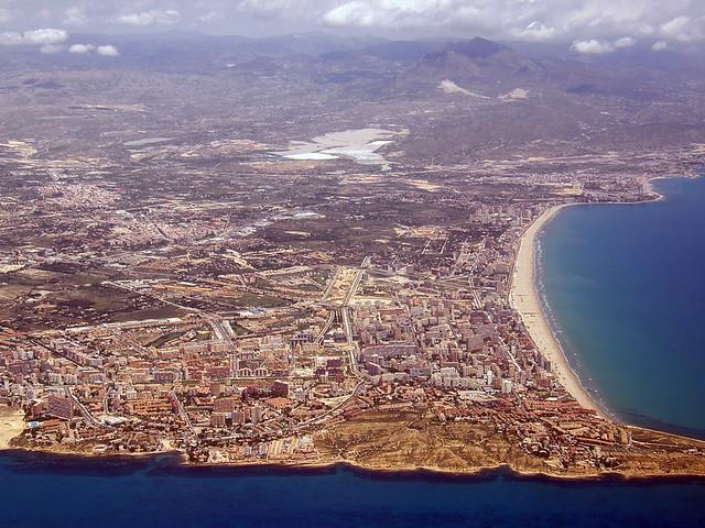 Alicante desde el cielo jorge castro flickr - Restaurante el cielo alicante ...