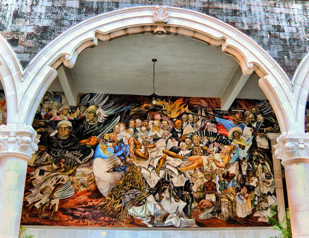 Mural, Palacio de Gobierno. Aguascalientes, Mexico