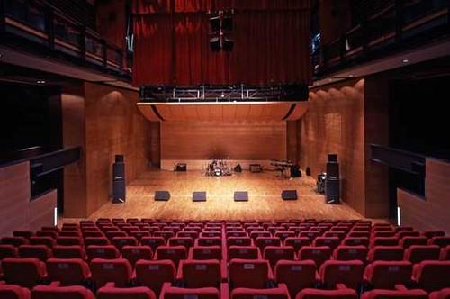 Caernarfon Theatre 07 Modern Interior Theater Design Flickr