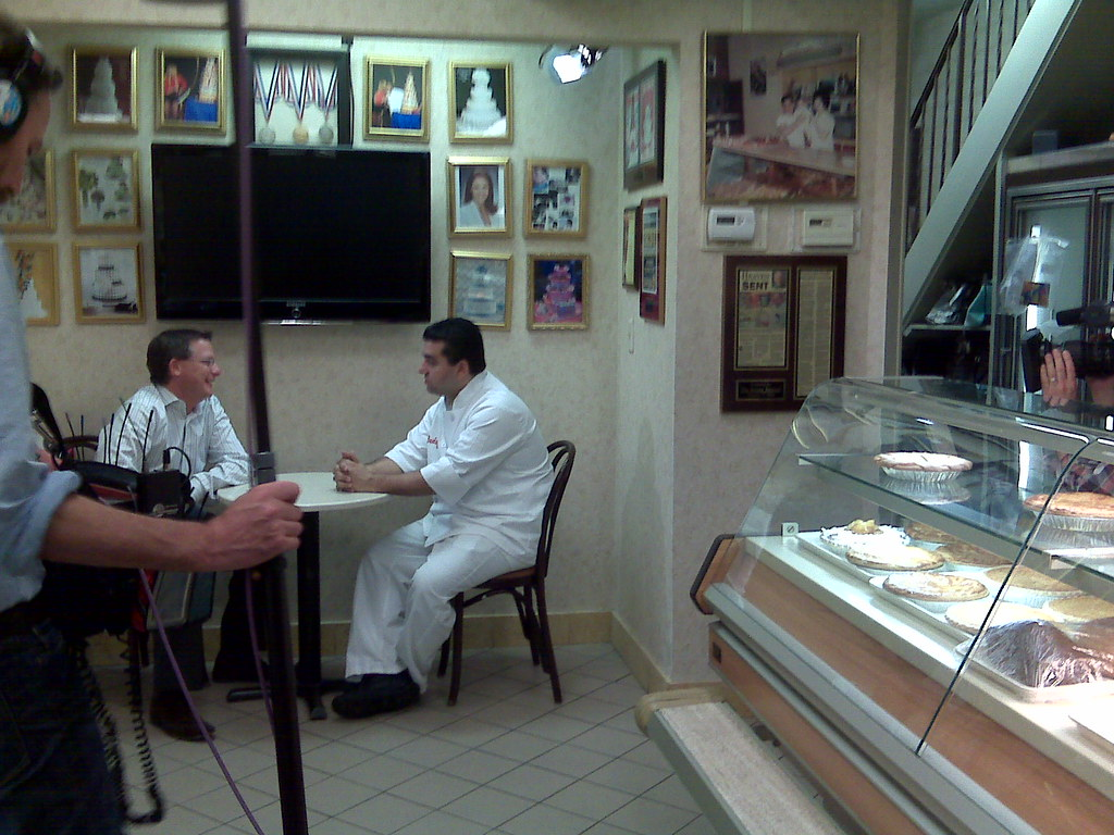 Filming Quot Cake Boss Quot At Carlo S Bakery In Hoboken I