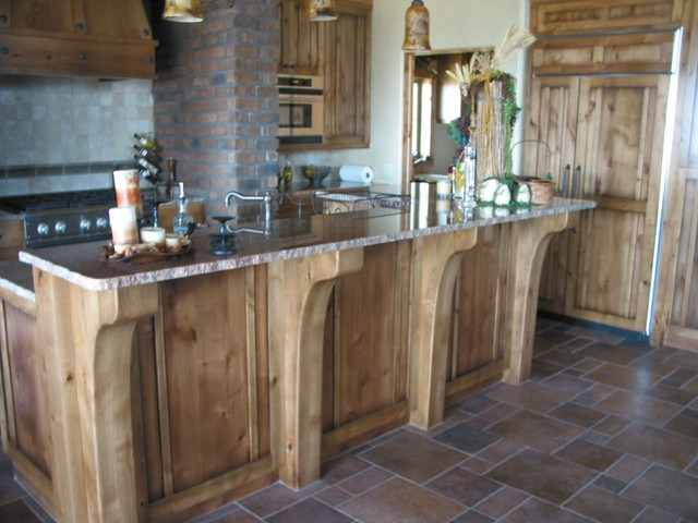 Kitchen Island With Custom Made Full Height Corbels Flickr