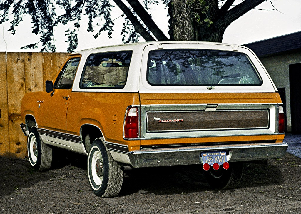 1974 Dodge Ramcharger Feb 1976 My First 4wd Bought Used