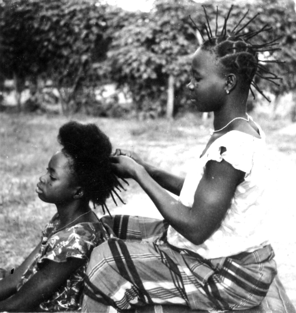 Early 1940s Hair Styles In Africa From A Mostly