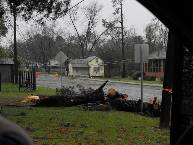 Pictures From Tornado Damage In Fitzgerald Ga 119