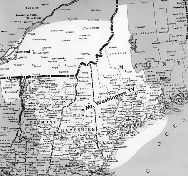 Poland Springs Maine Map.Ch 8 Wmtw Tv Poland Springs Maine Coverage Map The Transmi Flickr