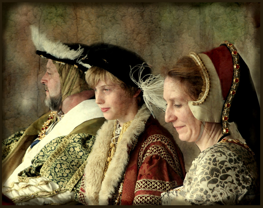 Portrait Of The Tudor Royal Family 20 06 09 Anniversary