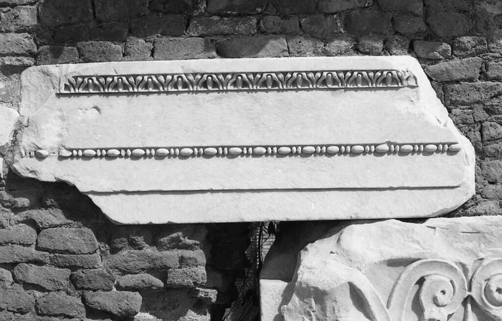 Architrave Block Ostia Temple Of Rome And Augustus Flickr