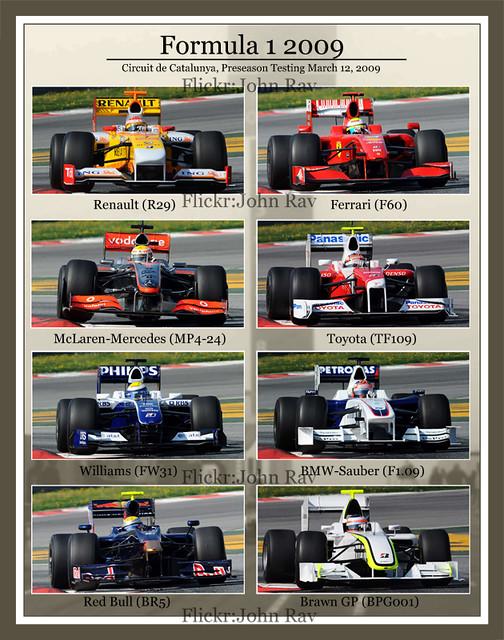 Formula 1 2009 Rules