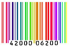 R Is For Rainbow rainbow barcode | Kiss...