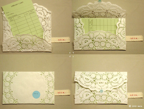 Step by step guide to doily invite | by design.mein