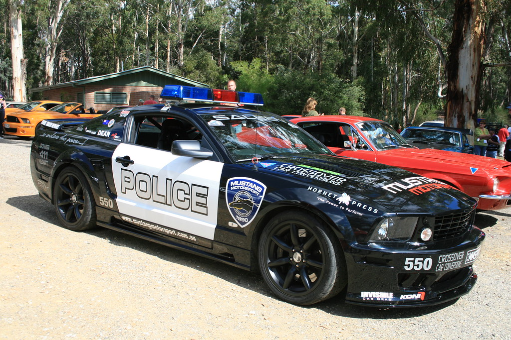 Ford Mustang Police Car From Transformers Easter Weekend