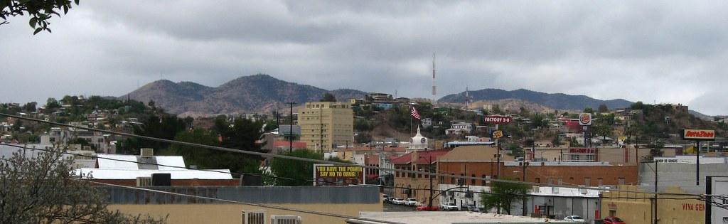 downtown nogales  arizona and nogales  sonora