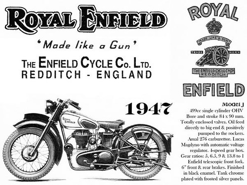 royal enfield 1947