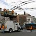 Trolley wire repair