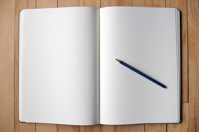 Libreta Gallery: A3 'folio' Moleskine Notebook